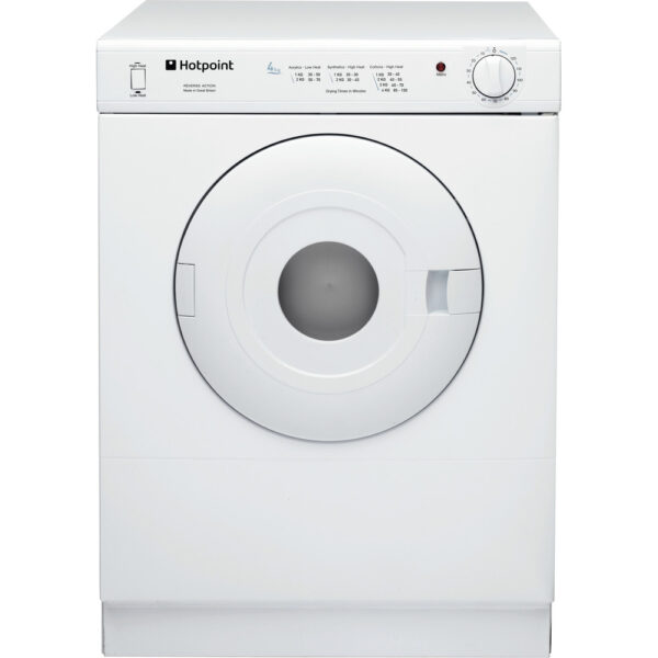 Hotpoint V4D 01 P Freestanding Compact Tumble dryer 2