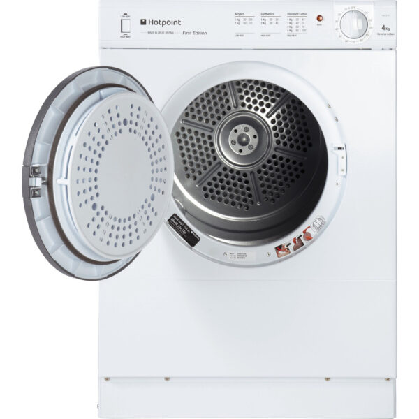 Hotpoint V4D 01 P Freestanding Compact Tumble dryer 1